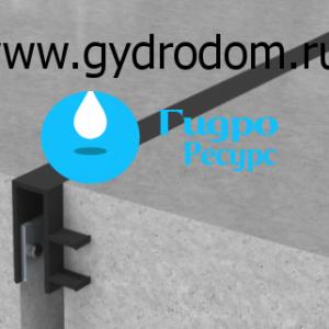 Гидроизоляционная шпонка типа ДЗС (UCR / ПГР)