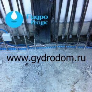 Гидроизоляционная шпонка тип ХВ (IC / ВР)
